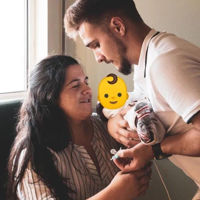 Жінка народила дитину без обличчя