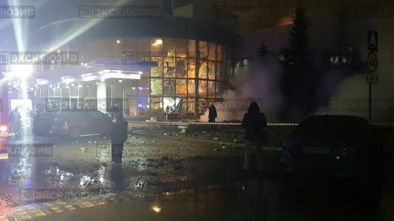 """На заводі """"Балтика"""" в Санкт-Петербурзі трапився вибух"""