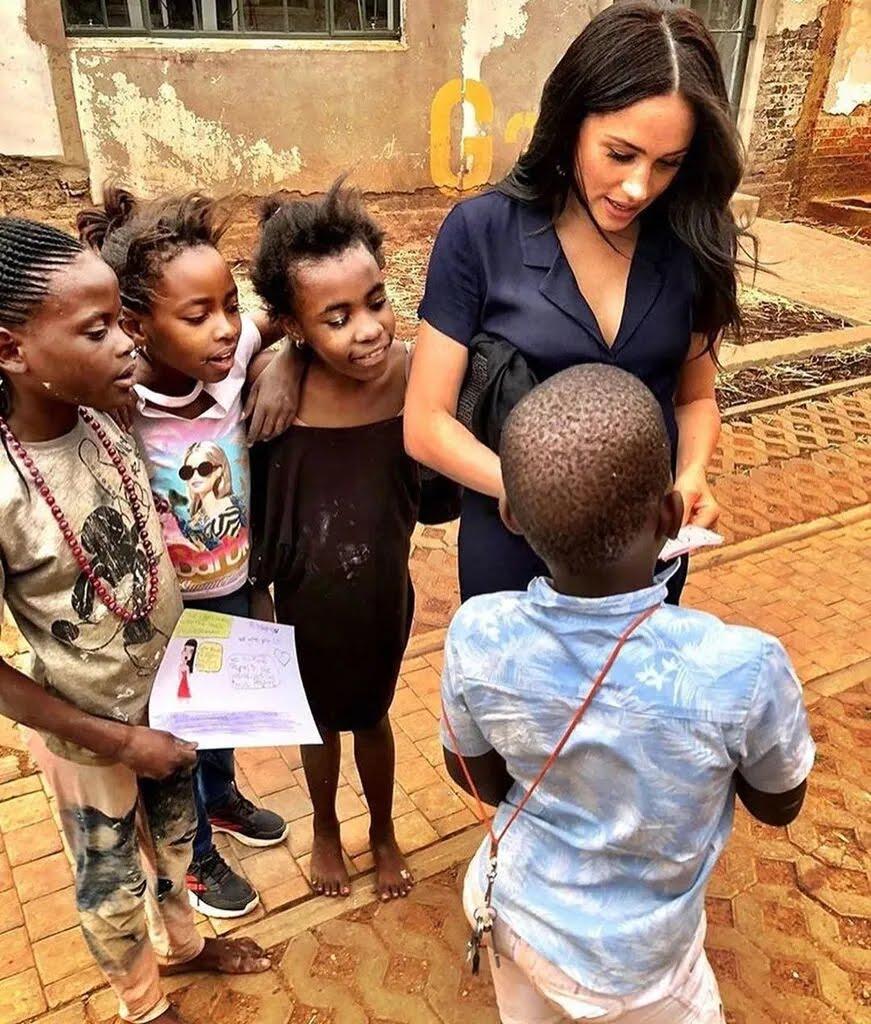 Меган Маркл в Африці