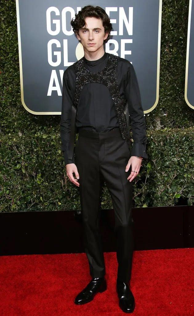 Тимоті Шаламе Golden Globe Awards
