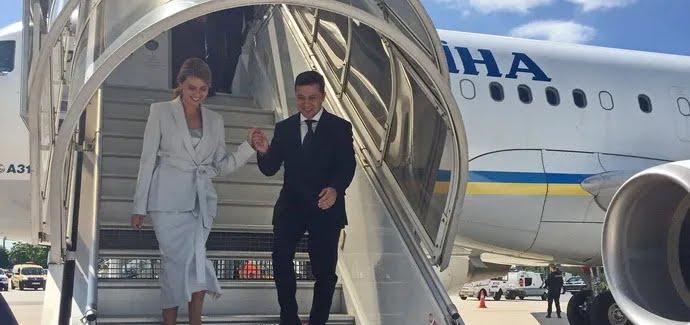 Зеленский совмещал официальные поездки с отдыхом