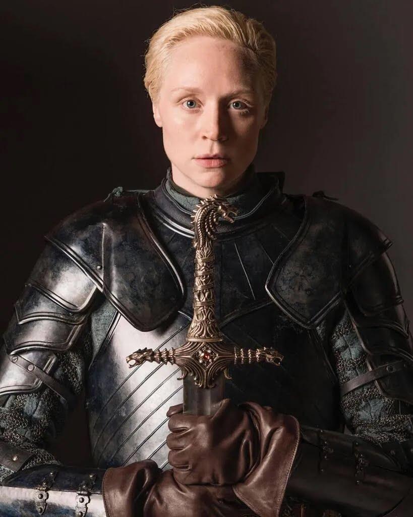 """Лицарка Брієнна Тарт, """"Гра престолів"""""""