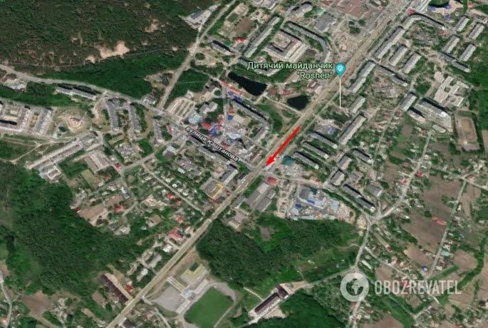 Випадок стався в Обухові Київської області