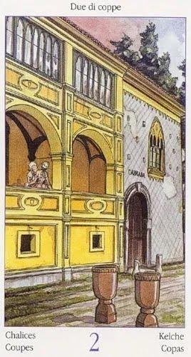 Таро Казановы, 2 Кубков