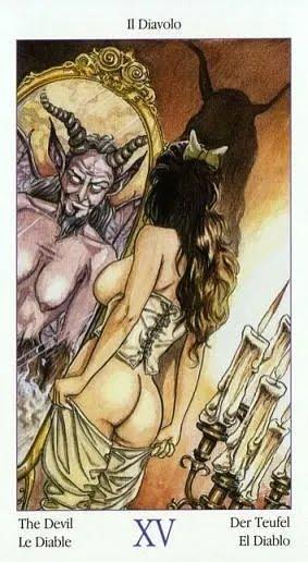 Таро Казановы, Дьявол