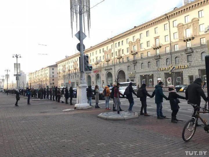 Протести в Мінську