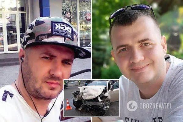 В ДТП погиб водитель такси Юрий Мавродиев и его пассажир Александр Санько