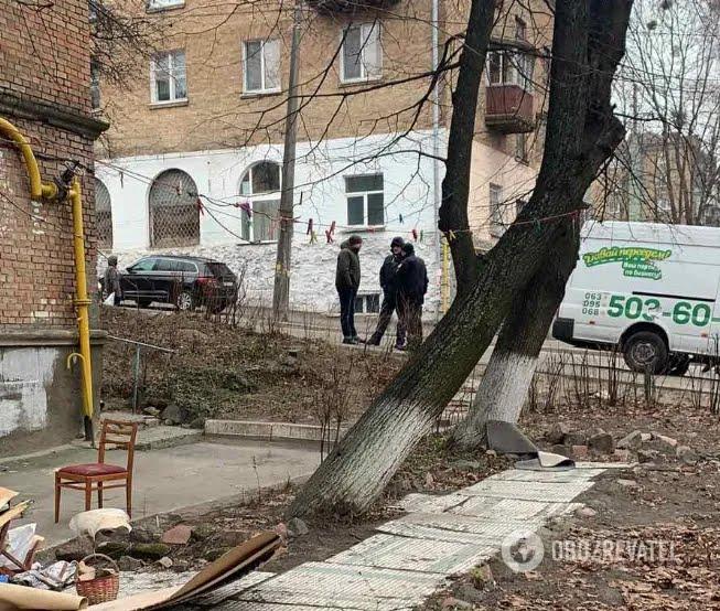 Протистояння у хостелі на вул. Кустанайській, 7 у Києві