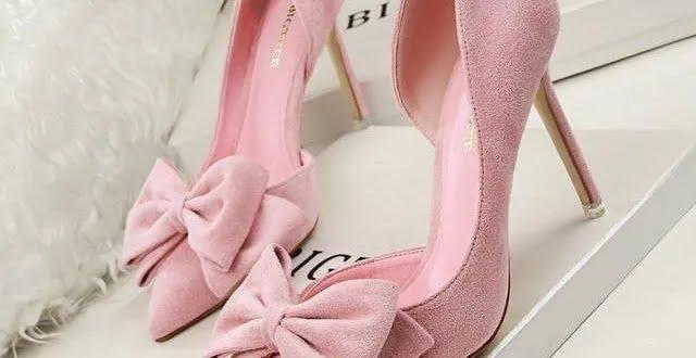 Туфли с бантами
