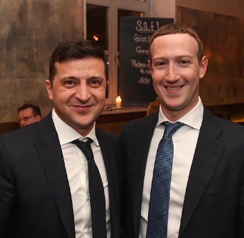 Зеленський похвалився фото з Цукербергом