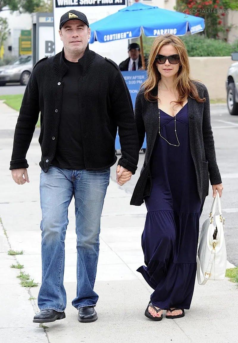 Джон Траволта и его жена Келли Престон