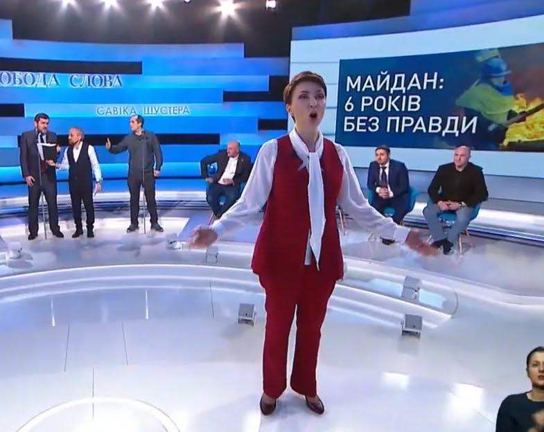 Елена Лукаш устроила скандал у Шустера