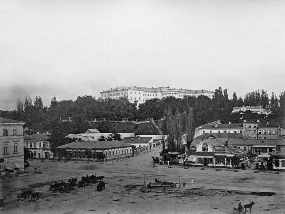 Майдан Незалежності (Хрещатицька площа) у 1860-х роках