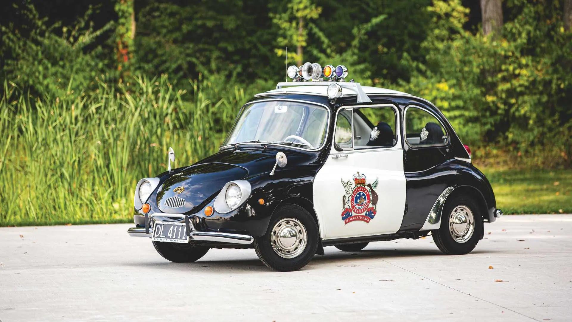 Subaru 360 New Zealand Police