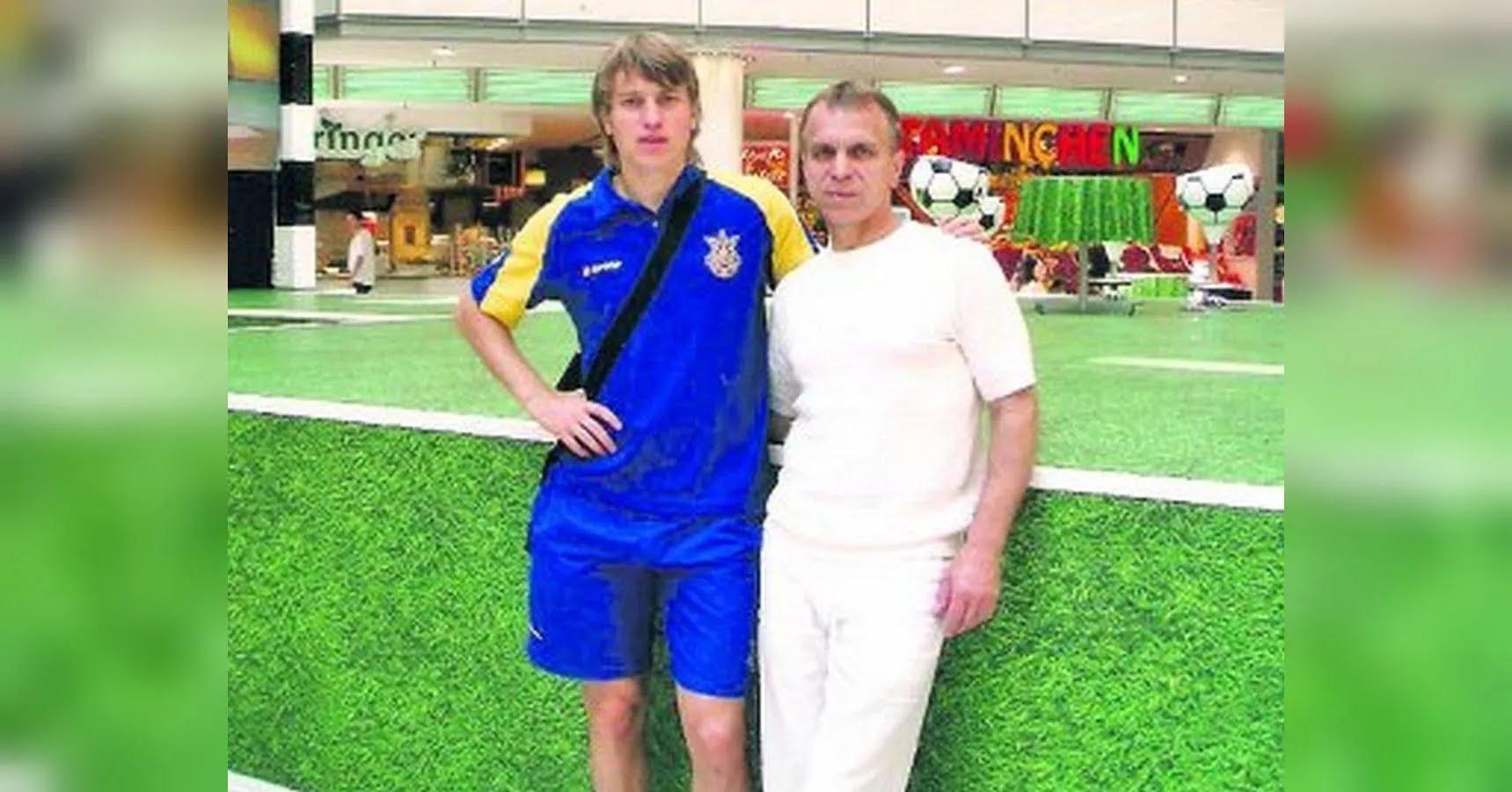 Руслан Ротань с отцом