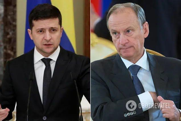 Владимир Зеленский и Николай Патрушев