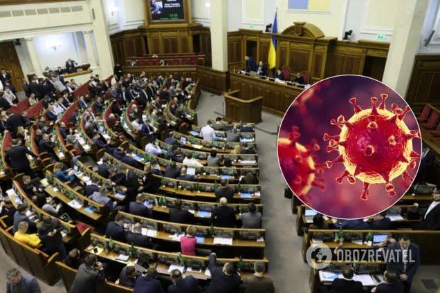 П'ятеро народних депутатів заразилися коронавірусів