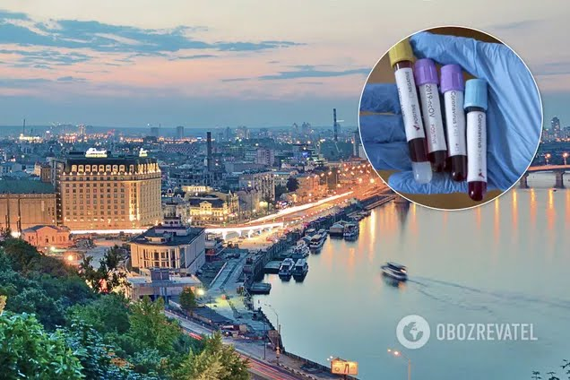 В Киеве и области подтвердили более 4 тысяч случаев COVID-19. Иллюстрация