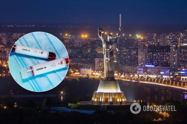 Коронавирус снова ударил по Киеву. Иллюстрация