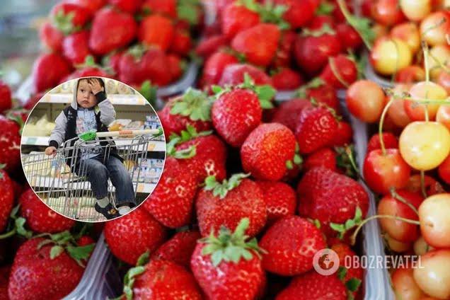 Ціни на фрукти та ягоди сягнули рекорду